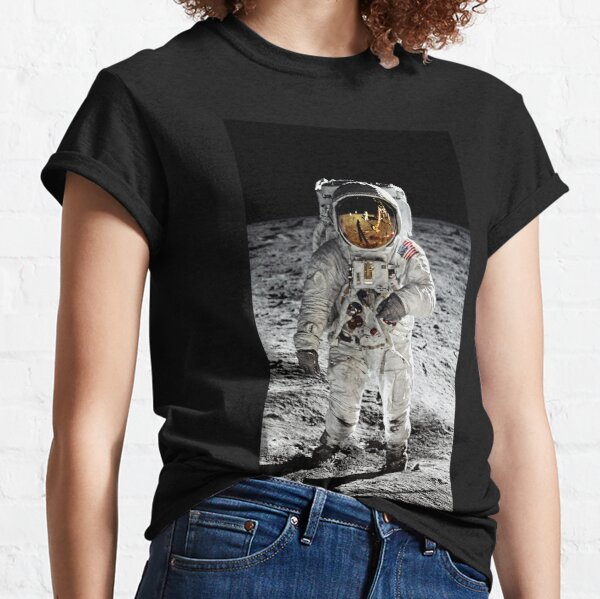 Aldrin on the Moon Classic T-Shirt