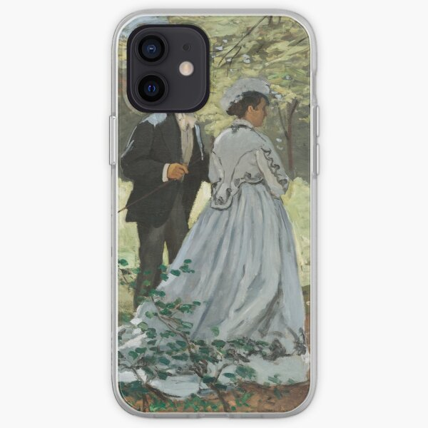 Bazille and Camille iPhone Soft Case
