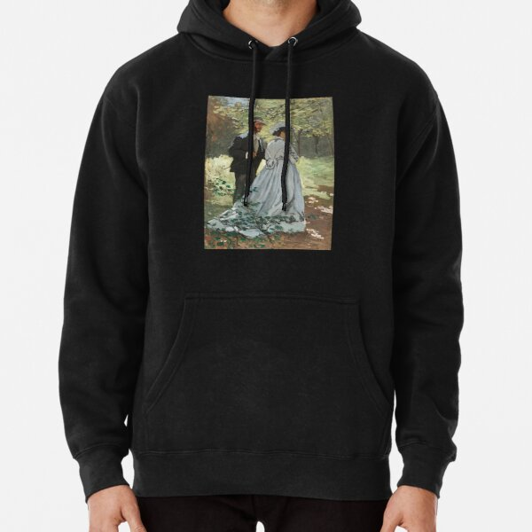 Bazille and Camille Pullover Hoodie