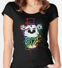 Five Nights At Freddy's - It's Me Women's Fitted Scoop T-Shirt