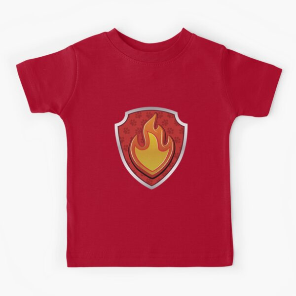 Marshal - Fire Pup-tag - © GraphicLoveShop Kids T-Shirt