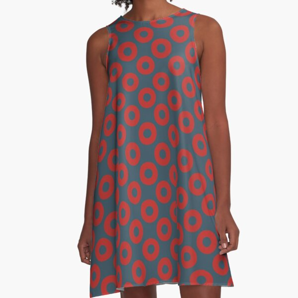 Jon Fishman Dress Pattern A-Line Dress