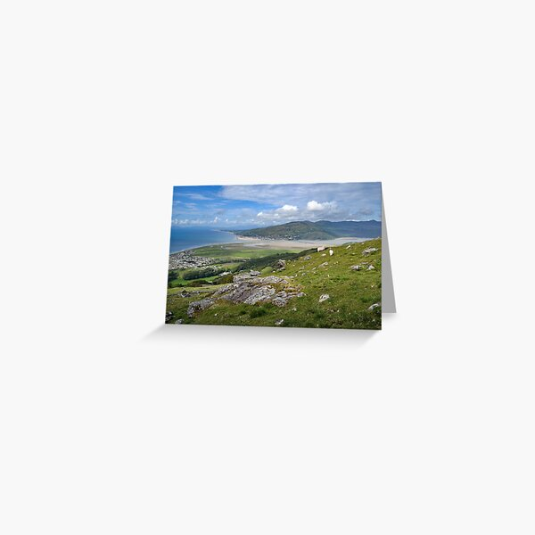 Up in the hills Greeting Card