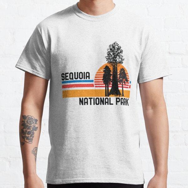 Vintage Sequoia National Park California Retro Sequoia Tree Classic T-Shirt