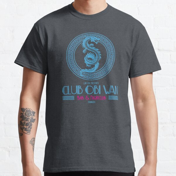 Club Obi Wan logo inspired by the Temple of Doom Classic T-Shirt