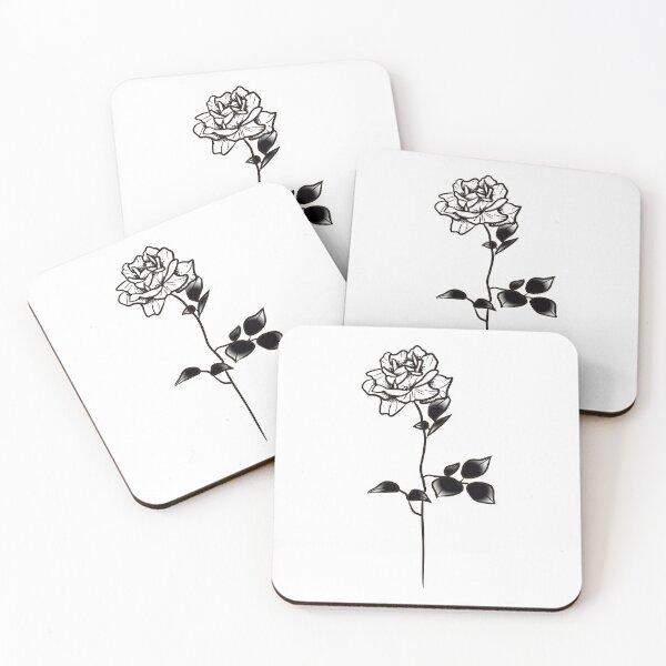 ROSE VI Coasters (Set of 4)