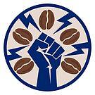 Coffee Revolution! Barista Labor Union Logo by epitomegirl
