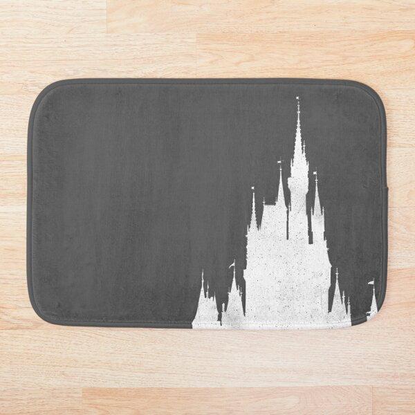 Magic Castle Silhouette Vintage Bath Mat