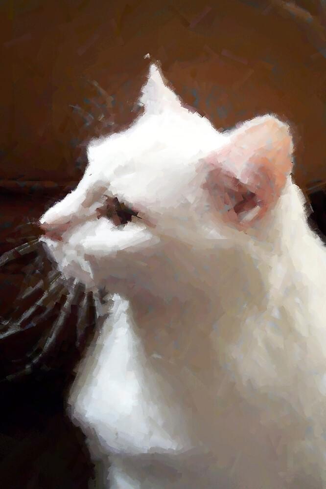 The Guard Cat by artymelanie
