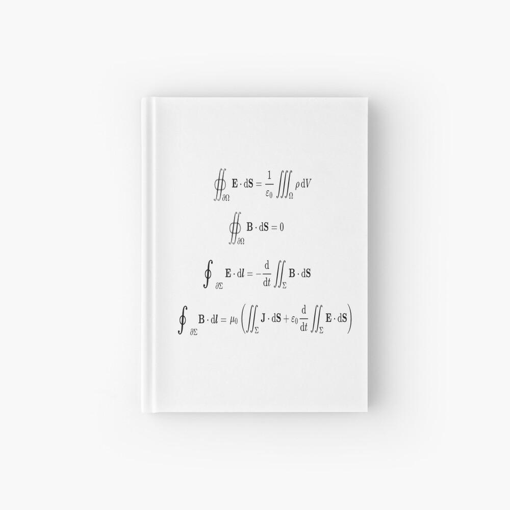 Maxwell's equations, #Maxwells, #equations, #MaxwellsEquations, Maxwell, equation, MaxwellEquations, #Physics, Electricity, Electrodynamics, Electromagnetism Hardcover Journal
