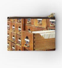 Vintage Library at Copenhagen University Studio Pouch