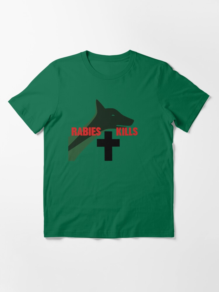 Alternate view of NDVH Rabies Kills Essential T-Shirt