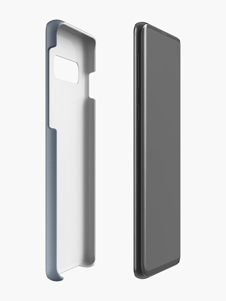 Alternate view of Gradient color: Gray Cases & Skins for Samsung Galaxy