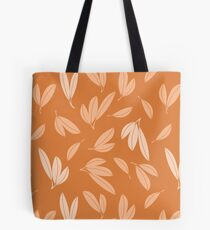 Floating autumn leaves Tote Bag