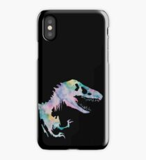 Watercolor Jurassic (black) iPhone Case/Skin