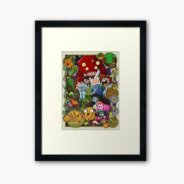 Time Adventure Framed Art Print