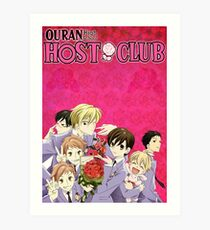 Ouran High School Host Club Kunstdruck