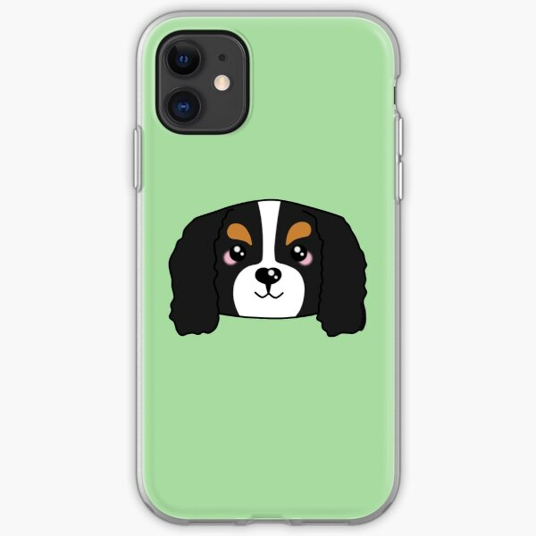 Cute Cavalier King Charles Spaniel iPhone Soft Case
