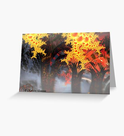 Haunted Forest Greeting Card