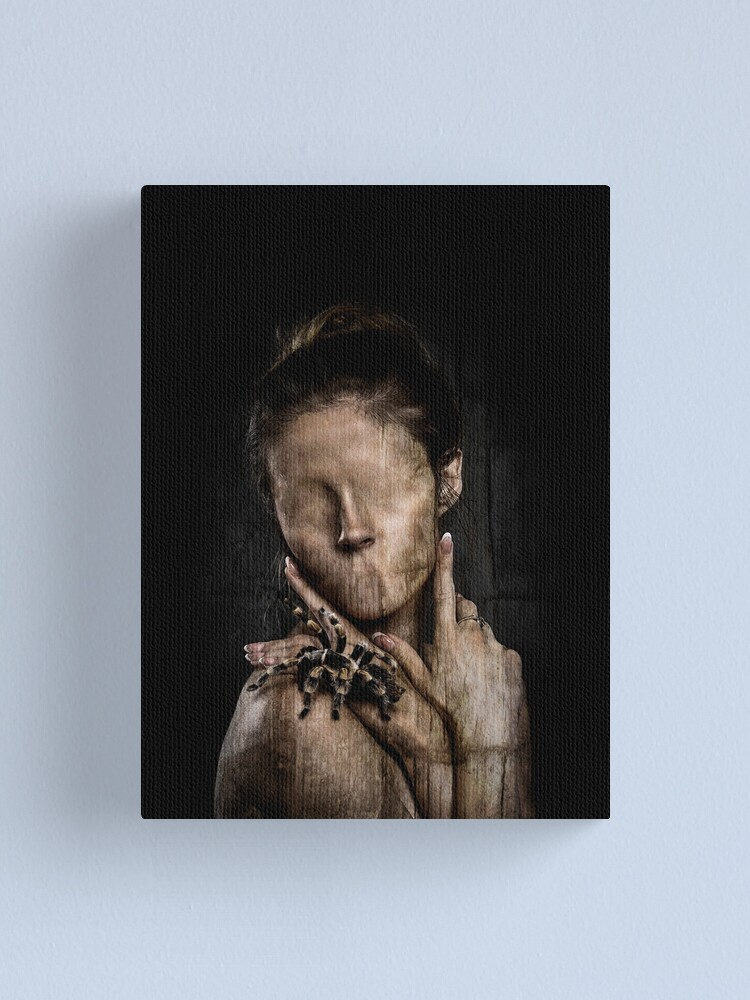 Alternate view of The Wooden Girl Canvas Print