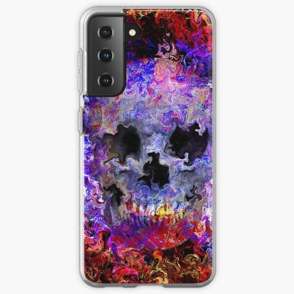 Hippie skull Samsung Galaxy Soft Case
