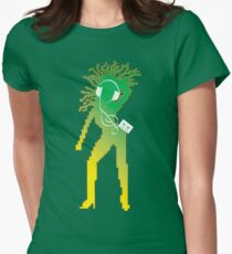 C90 Pod (green) Womens Fitted T-Shirt