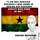 Kwame Nkrumah by hattiec1