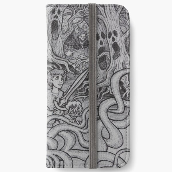 Iconic B C iPhone Wallet