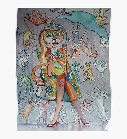 It's Raining Cats and Dogs! Poster
