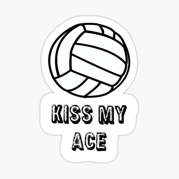 Sticker - Kiss My Ace Sticker