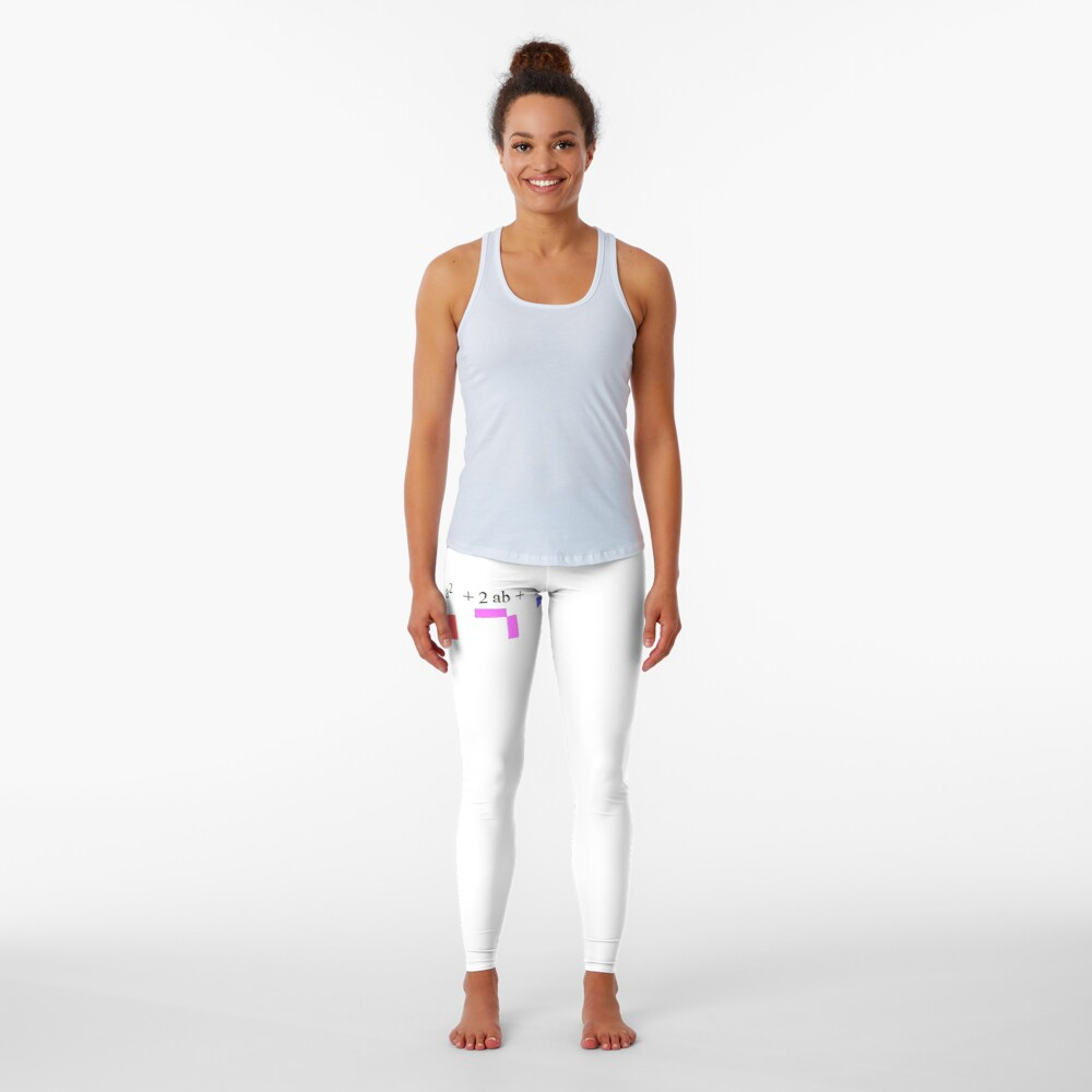 Visualization of Binomial Expansion for the 2nd Power  #Visualization #Binomial #Expansion #Power Leggings