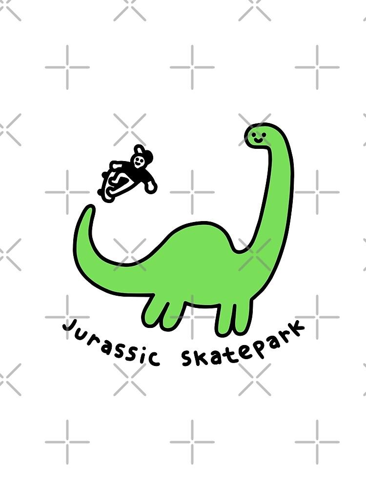Jurassic Skatepark by obinsun