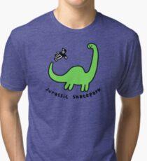 Jurassic Skatepark Tri-blend T-Shirt