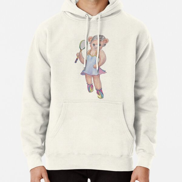 Tracy Bear Tennis Champion Pullover Hoodie