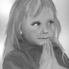 Child Praying by artymelanie