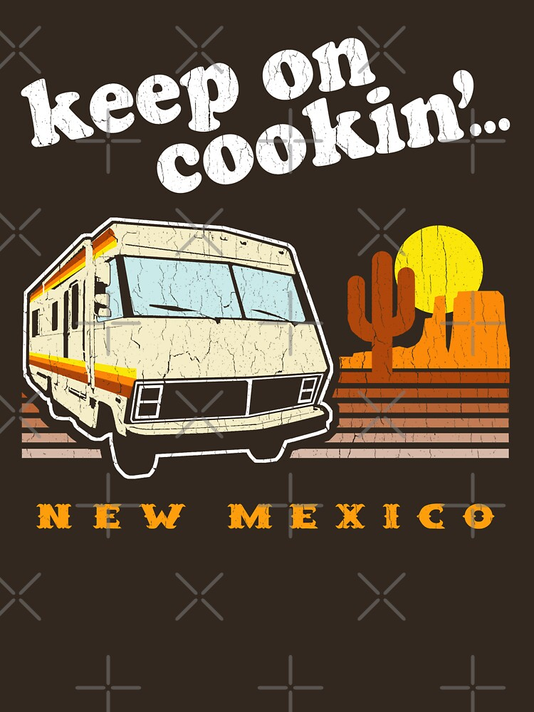 Funny - Keep on Cookin'! (Distressed Vintage Look) | Unisex T-Shirt