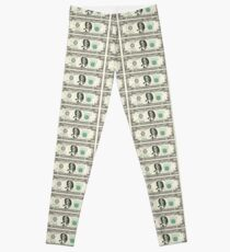 harriet tubman dollar Leggings