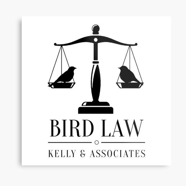 It's Always Sunny in Philadelphia Bird Law Metal Print