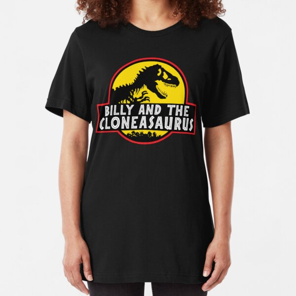 Billy And The Cloneasaurus  Slim Fit T-Shirt