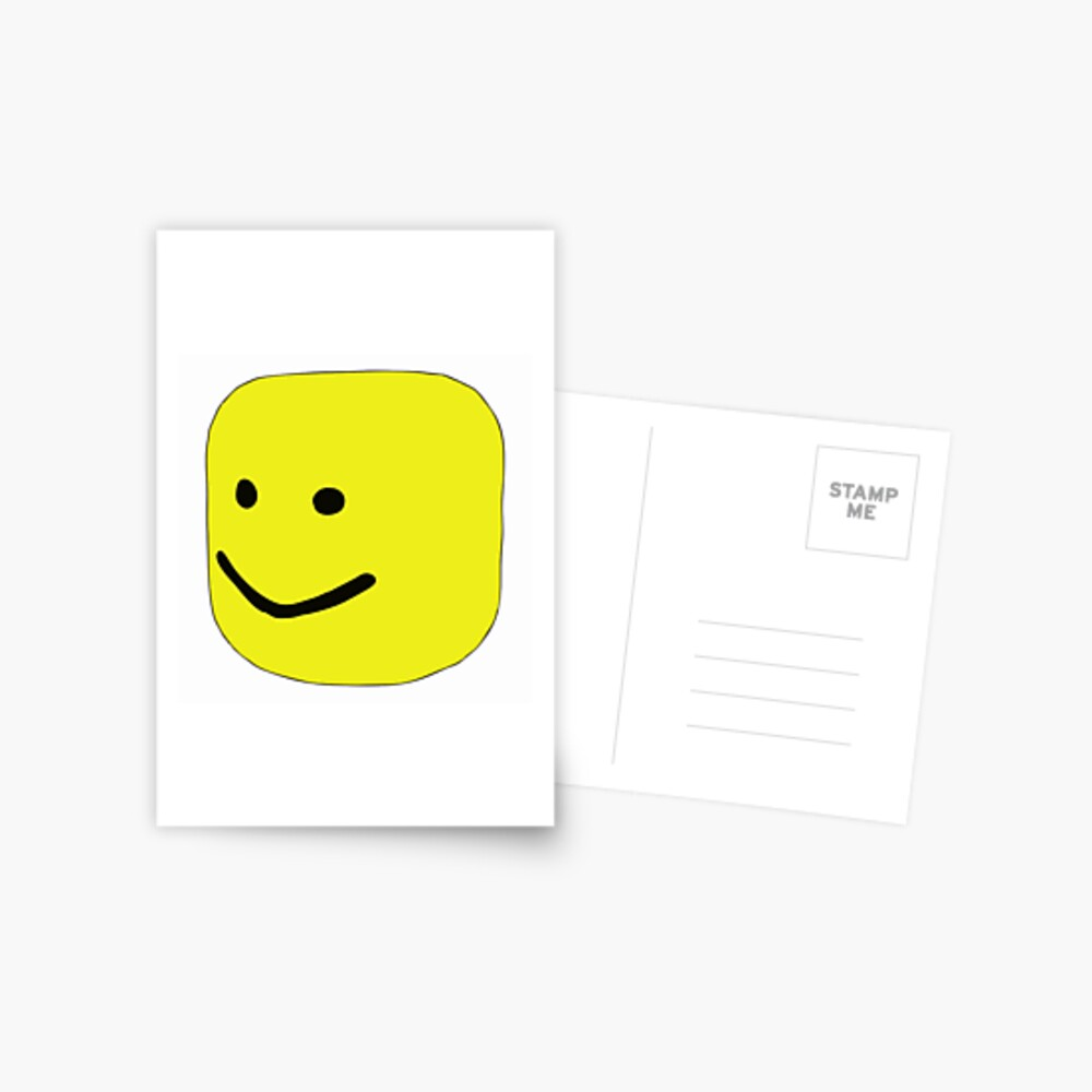 Top Selling Roblox Oof Postcard By Renytaoge Redbubble