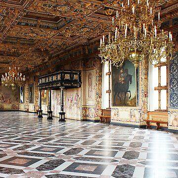 Frederiksborg Castle Interior, DENMARK by BrunoBeach
