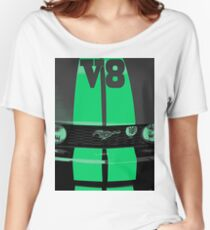 Mustang V8 Women's Relaxed Fit T-Shirt