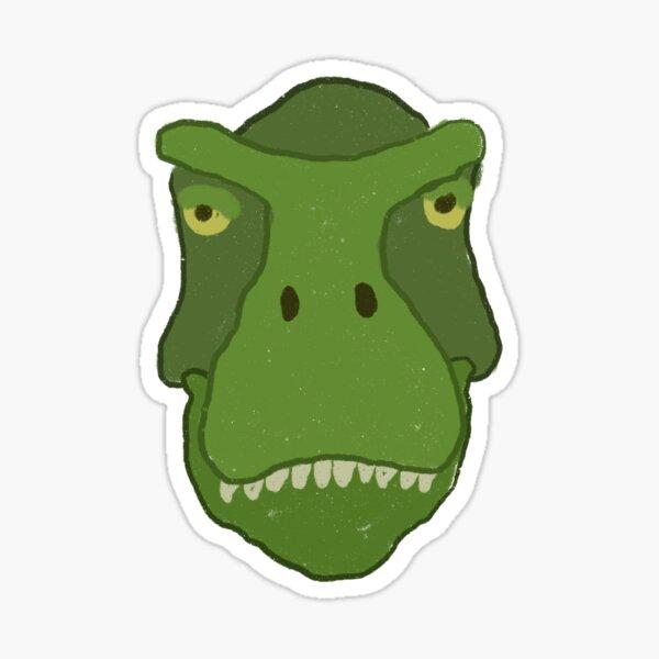 Smug T. Rex Sticker