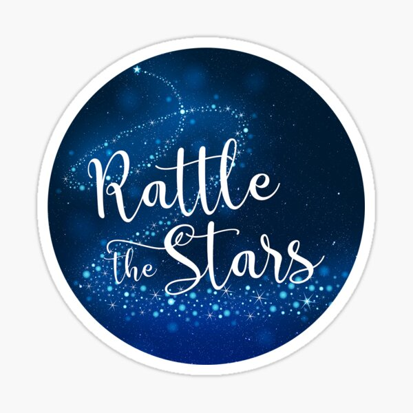 Rattle the Stars - Throne of Glass Sticker