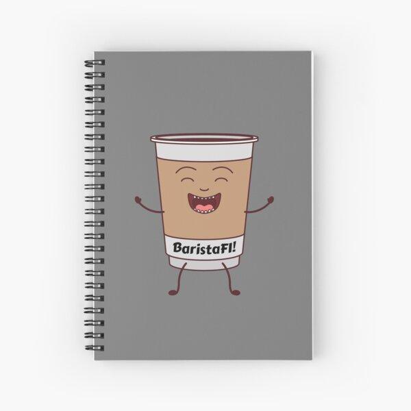 BaristaFI Spiral Notebook