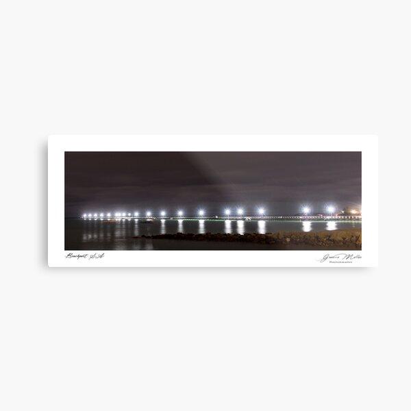 Beachport Jetty SA Metal Print