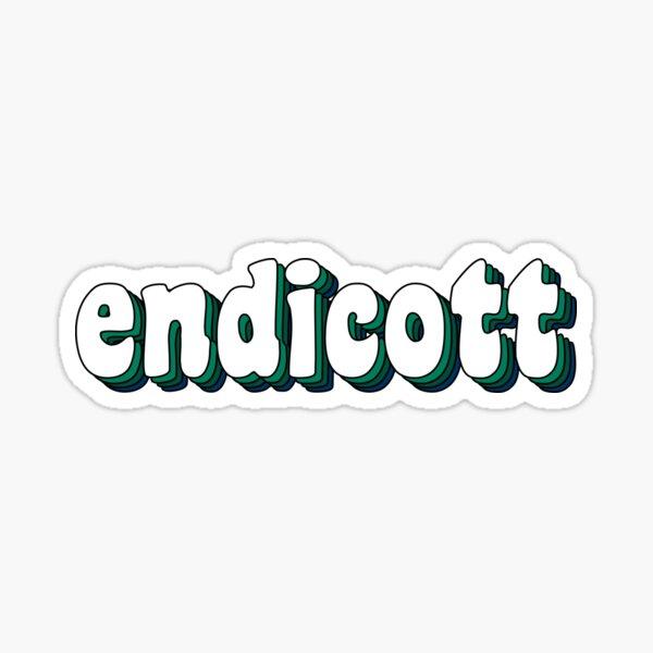 Groovy Endicott Sticker