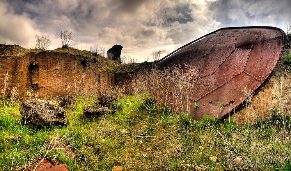 Goliaths Shield - Furnace Park, Lithgow NSW Australia - The HDR Exxperience by Philip Johnson