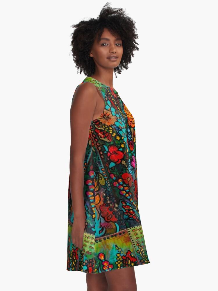 Alternate view of Jardin d'Or A-Line Dress