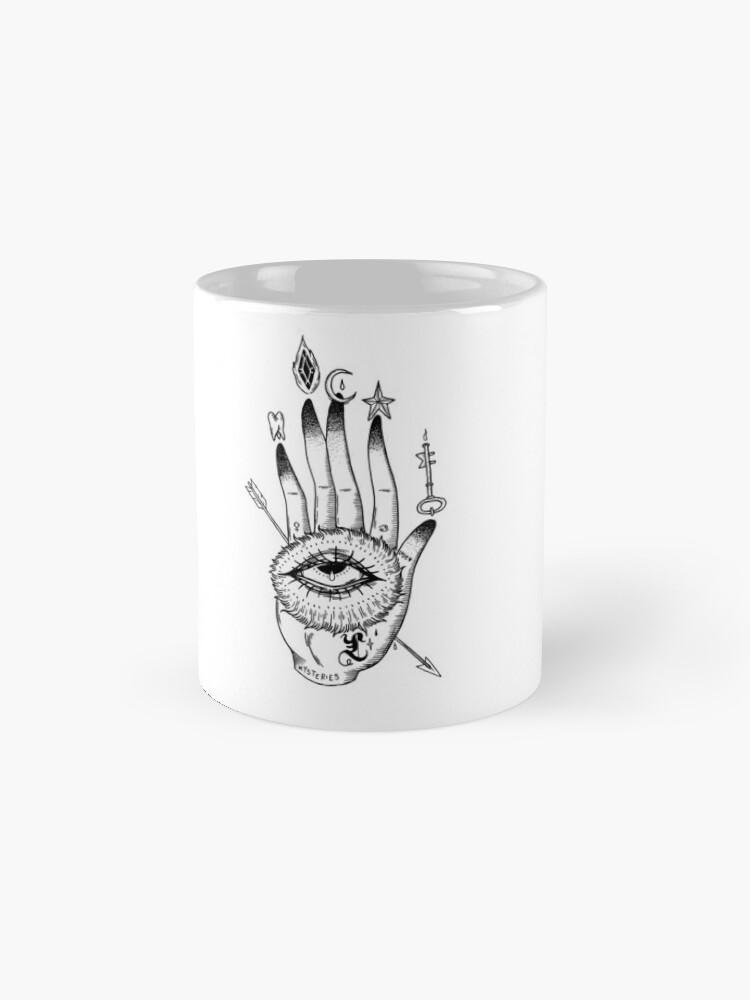 Alternate view of Hand of Mysteries  Mug